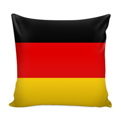 German Flag Decorative Pillow Case