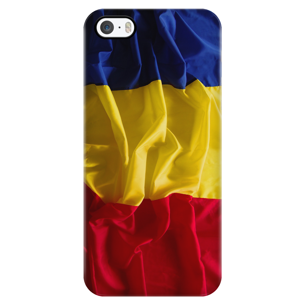Romanian Flag Protective Phone Case