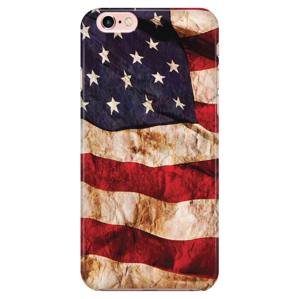 American Flag Protective Phone Case - Nation Love