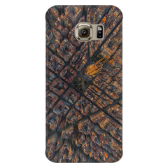 Barcelona Bird's Eye View Protective Phone Case