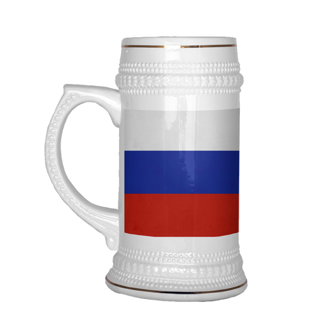 Russian Coat of Arms 22oz Beer Stein