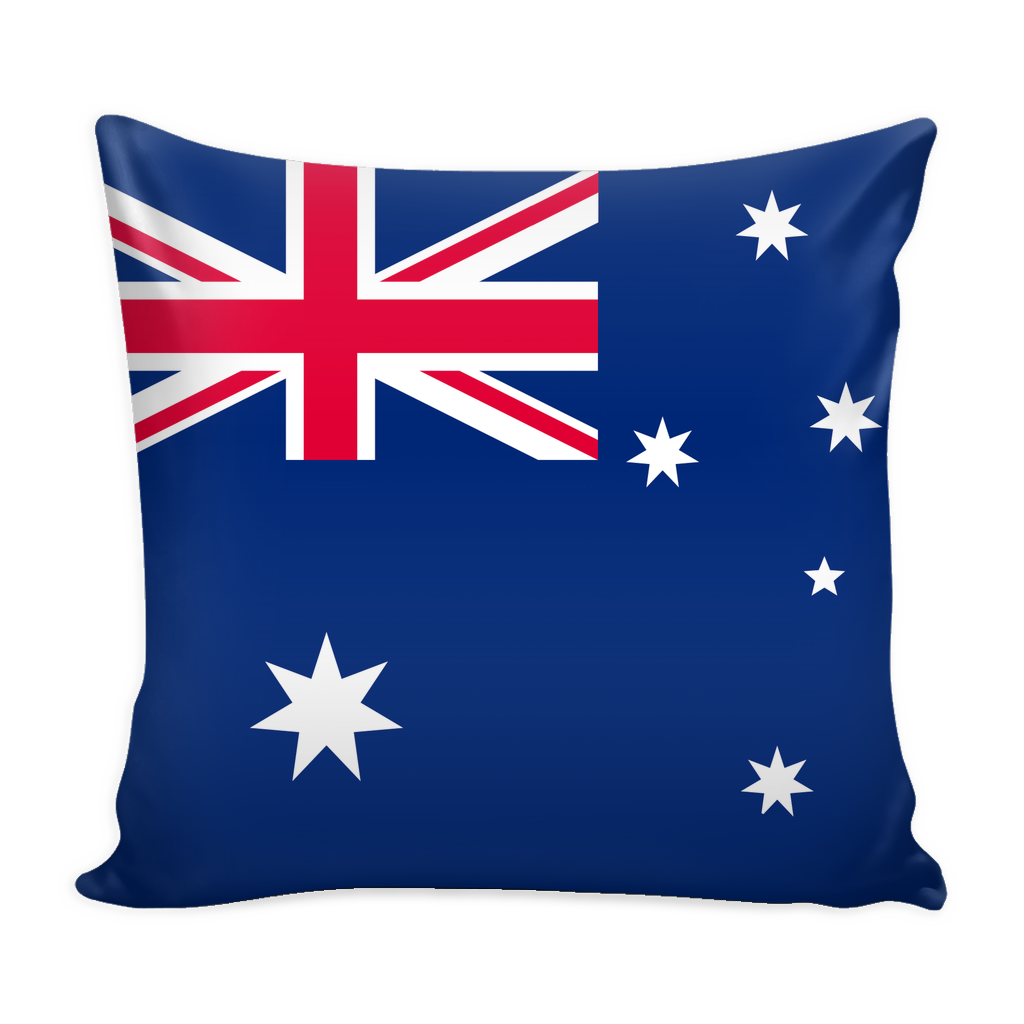 Australian Flag Decorative Pillow Case - Nation Love