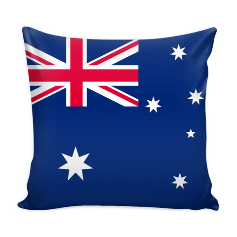 Australian Flag Decorative Pillow Case