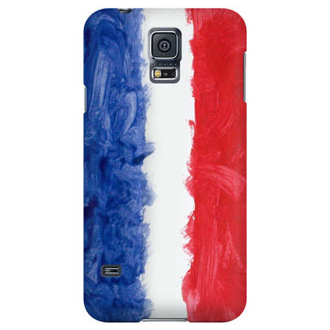 French Flag Protective Phone Case