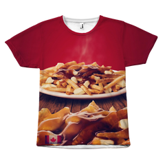Canadian Poutine Unisex T-Shirt - Nation Love