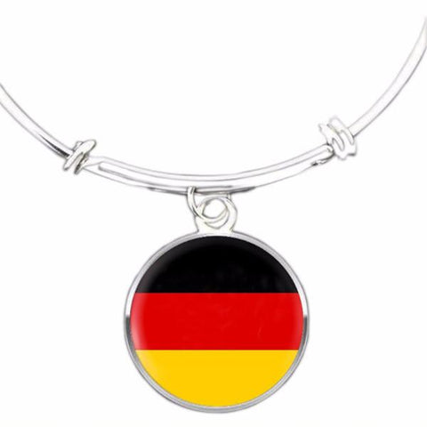 German Flag Bangle Bracelet - Nation Love
