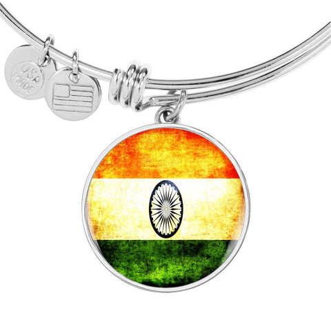 Indian Flag Bangle Bracelet