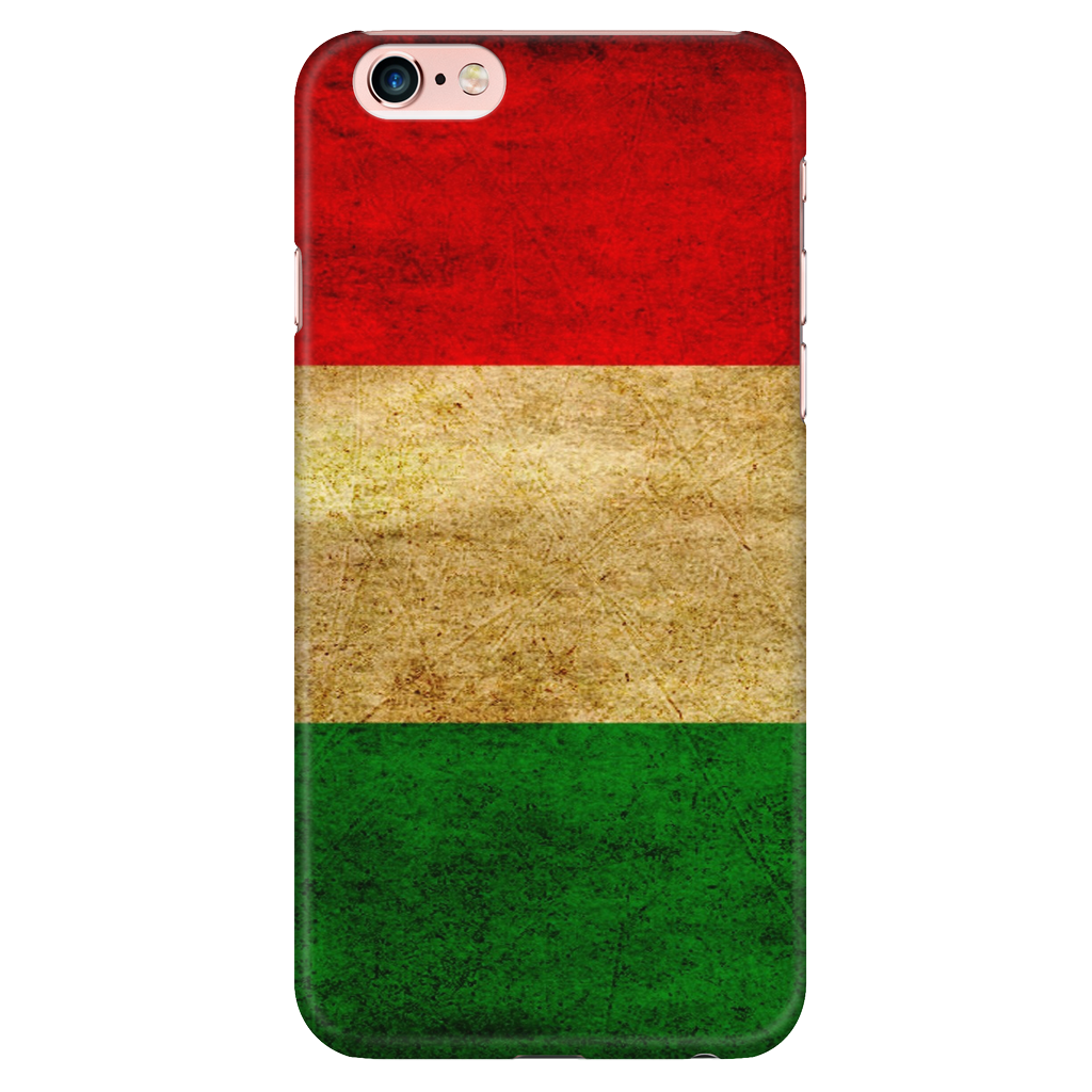Hungarian Flag Protective Phone Case