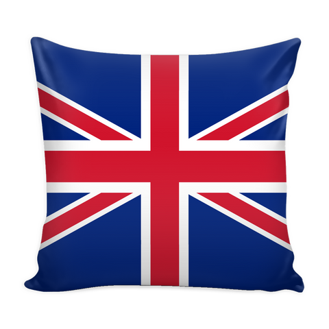 British Flag Decorative Pillow Case