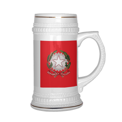 Italian Emblem 22oz Beer Mug, Beer Stein - Nation Love