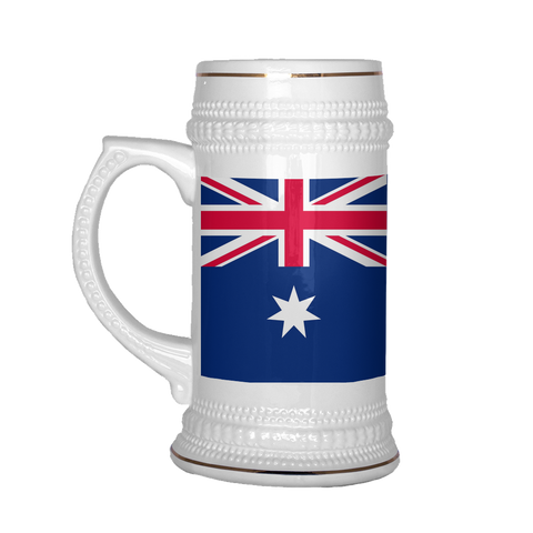 Australian Coat of Arms 22oz Beer Stein, Beer Stein