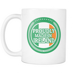 Made in Ireland 11oz Coffee Mug - Nation Love