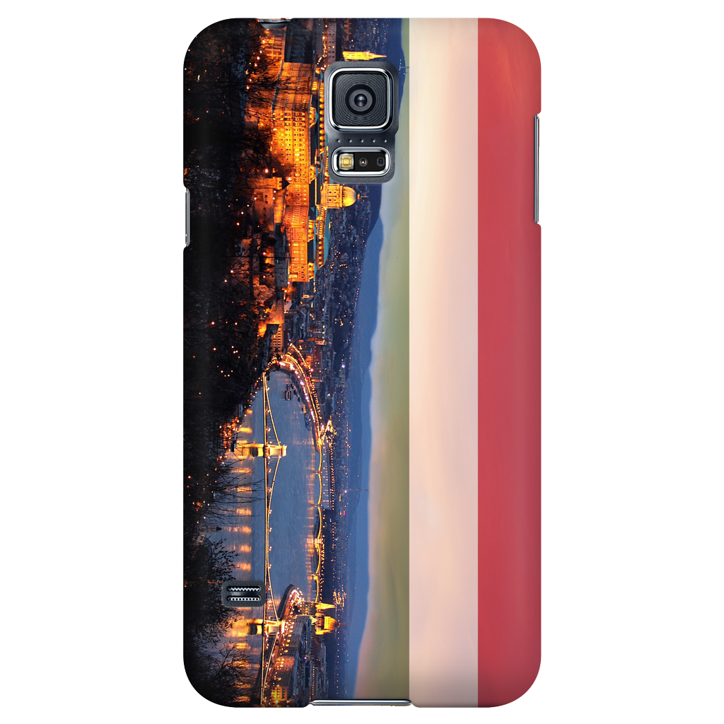 Budapest Skyline Protective Phone Case - Nation Love