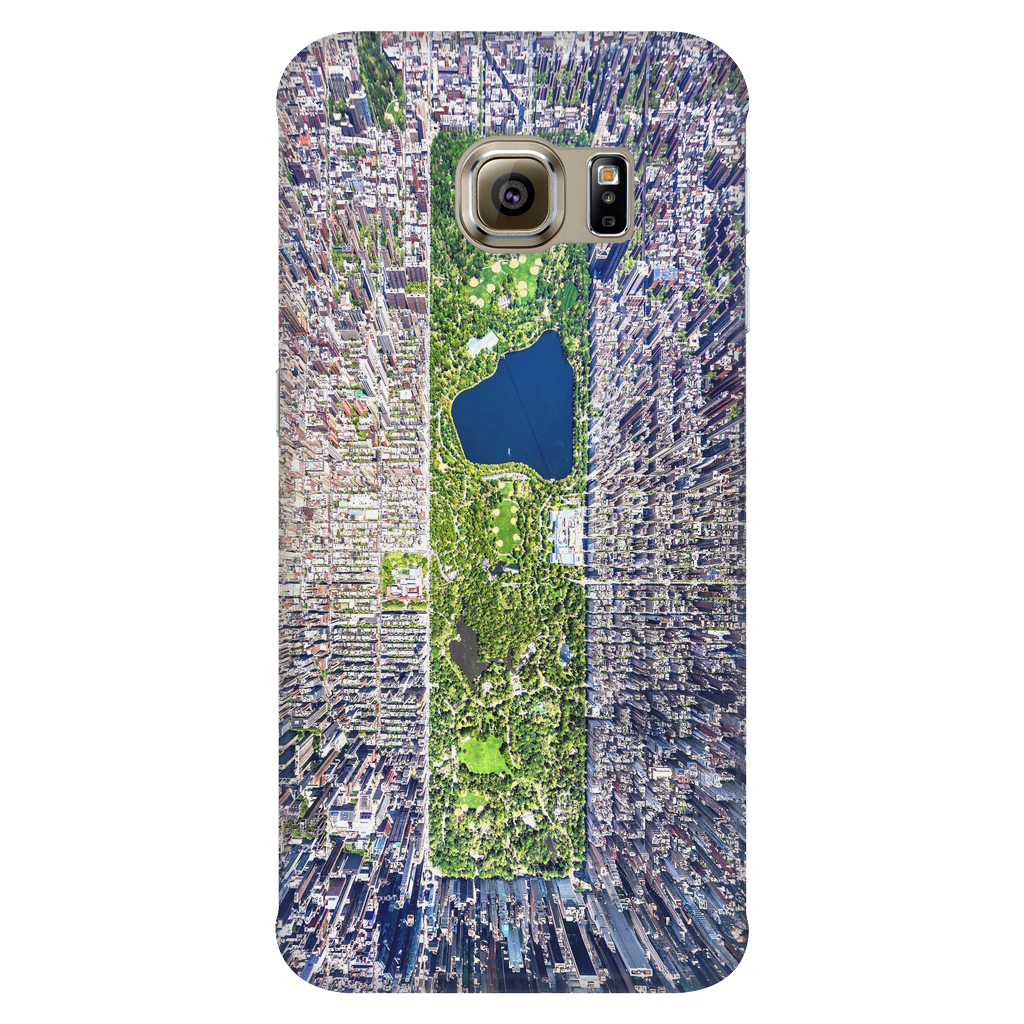 Central Park Bird's Eye View Protective Phone Case