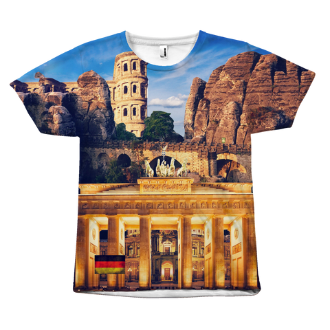 Germany Landmarks Unisex T-Shirt