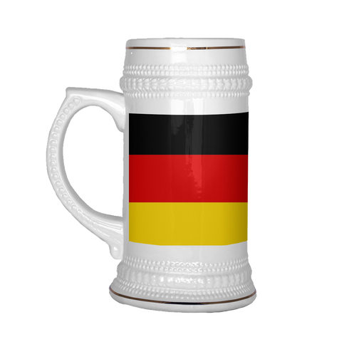 German Coat of Arms 22oz Beer Mug, Beer Stein - Nation Love