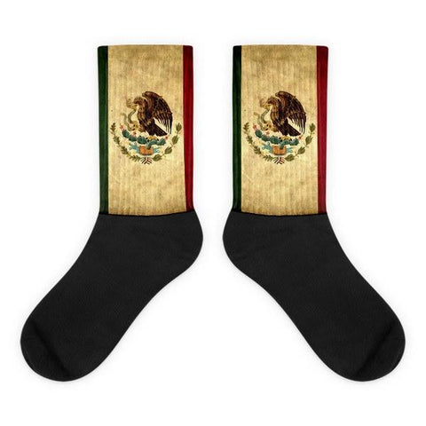 Mexican Flag Novelty Socks - Nation Love, bandera mexicana