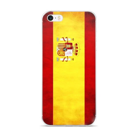 Spanish Flag Protective iPhone Case - Nation Love