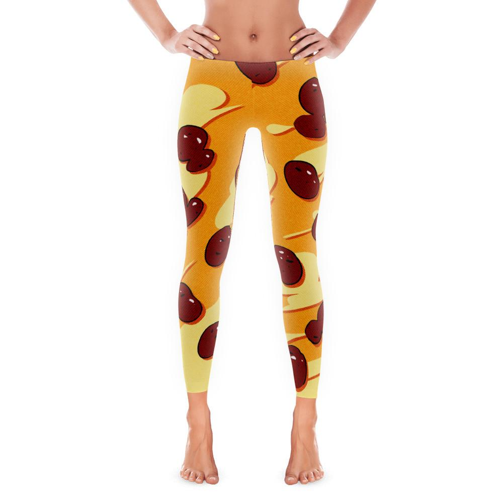 Italian Pizza Leggings - Nation Love