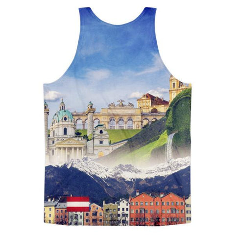 Austrian Landmarks Classic Tank Top (unisex) - Nation Love