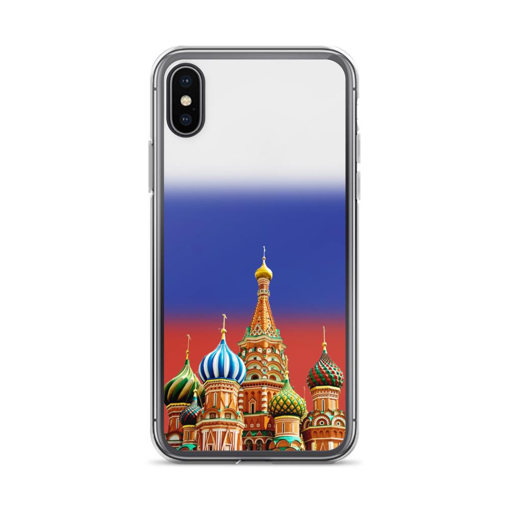Russia Saint-Basil's Cathedral Protective iPhone Case - Nation Love