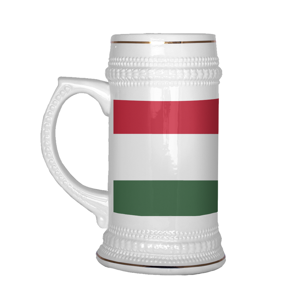 Hungarian Coat of Arms 22oz Beer Mug, Beer Stein - Nation Love