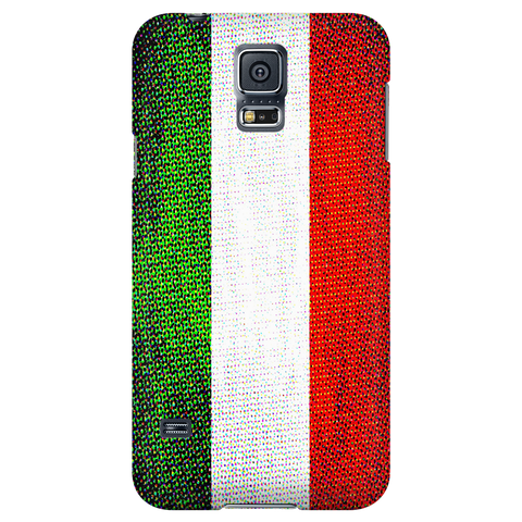 Italian Flag Protective Phone Case