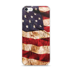 American Flag Protective iPhone Case - Nation Love