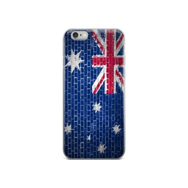 Australian Flag Protective iPhone Case - Nation Love