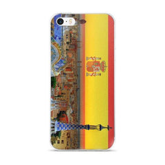Barcelona Skyline Protective iPhone Case - Nation Love