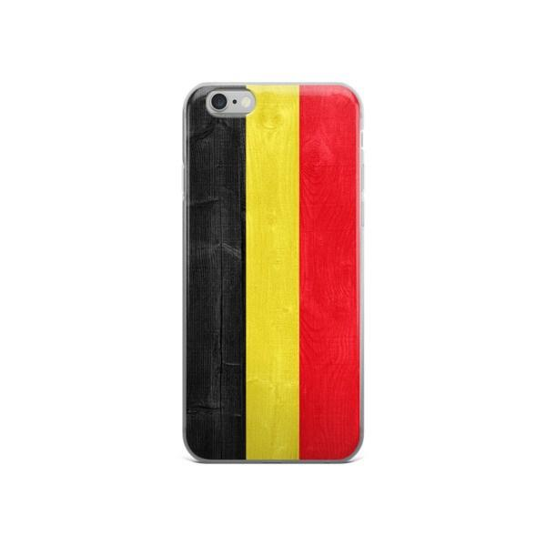 Belgium Flag Protective iPhone Case - Nation Love
