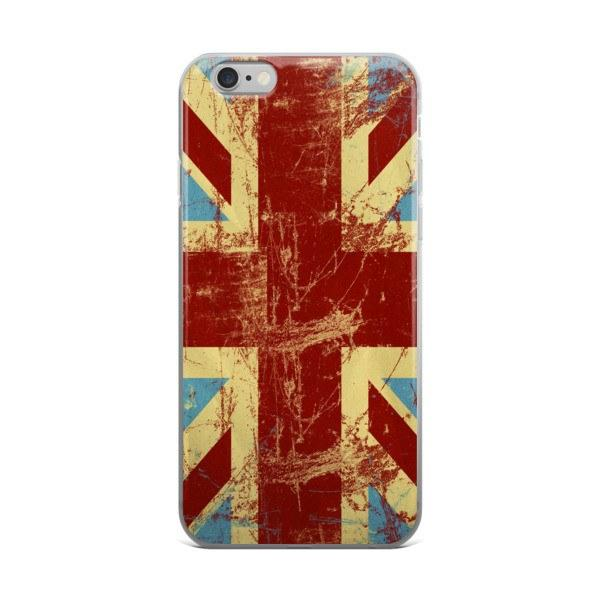 British Flag Protective iPhone Case - Nation Love