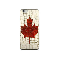 Canadian Flag Protective iPhone Case - Nation Love