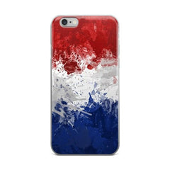 Dutch Flag Protective iPhone Case - Nation Love