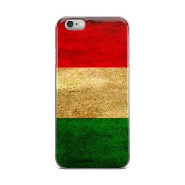 Hungarian Flag Protective iPhone Case - Nation Love