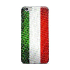 Italian Flag Protective iPhone Case - Nation Love