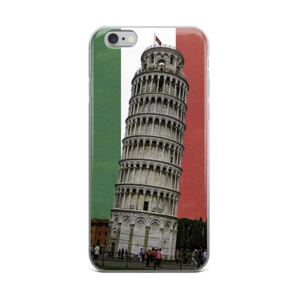 Leaning Tower of Pisa Protective iPhone Case - Nation Love