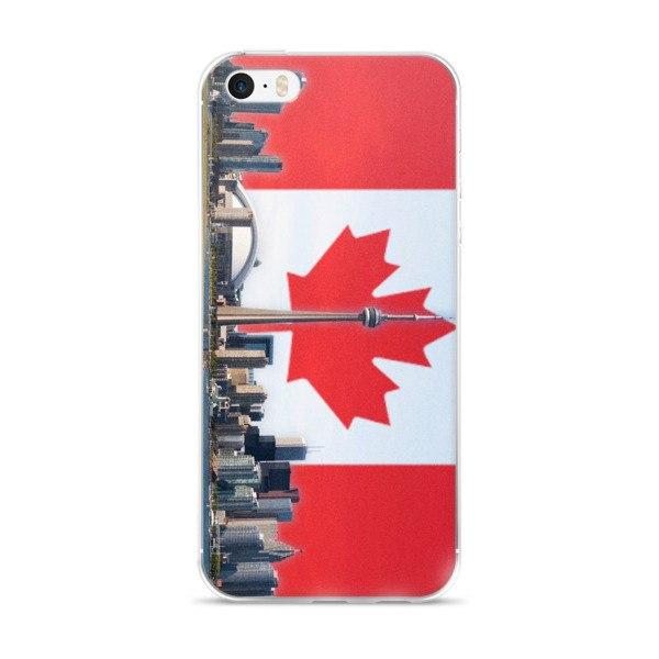 Toronto Skyline Protective iPhone Case - Nation Love