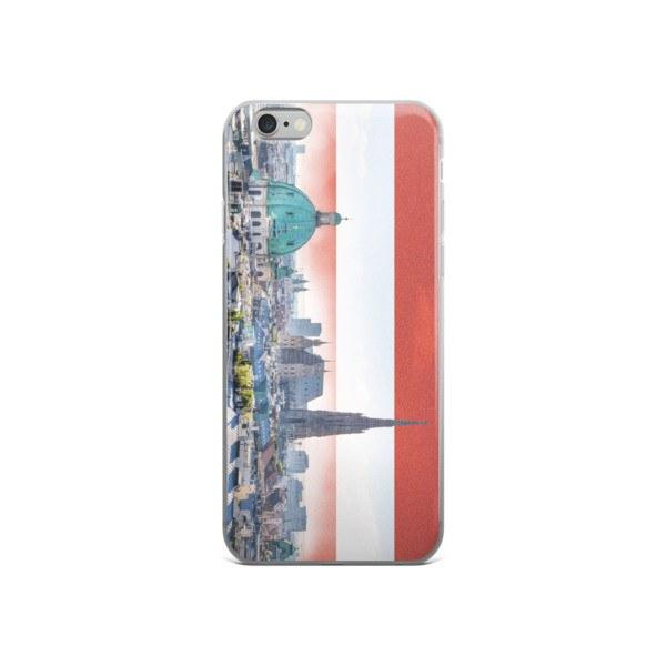 Vienna Skyline Protective iPhone Case - Nation Love