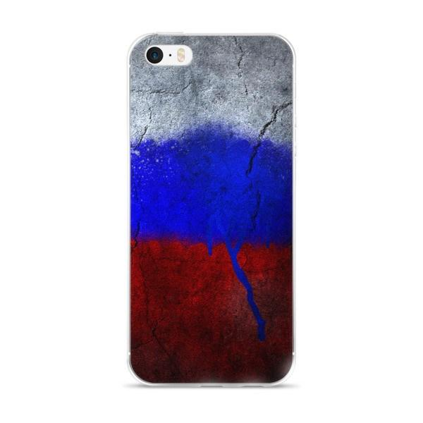 Russian Flag Protective iPhone Case - Nation Love