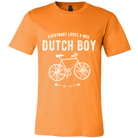 'Everyone Loves a Nice Dutch Boy' Orange T-shirt [2 Variations] - Nation Love