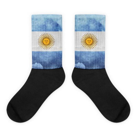 Argentinian Flag Novelty Socks - Nation Love, novelty socks, dress socks, cool socks