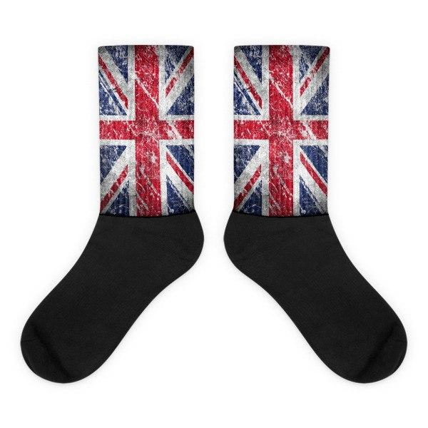 British Flag Novelty Socks - Nation Love