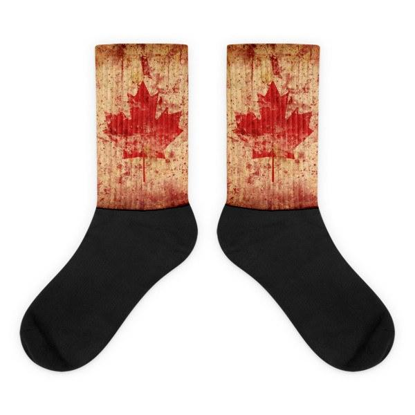 Canadian Flag Socks - Nation Love