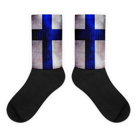 Socks - Finnish Flag Socks