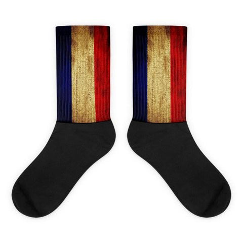 French Flag Novelty Socks - Nation Love