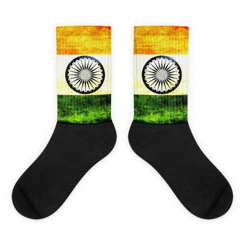 Indian Flag Novelty Socks - Nation Love