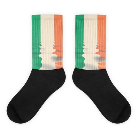 Irish Flag Novelty Socks - Nation Love