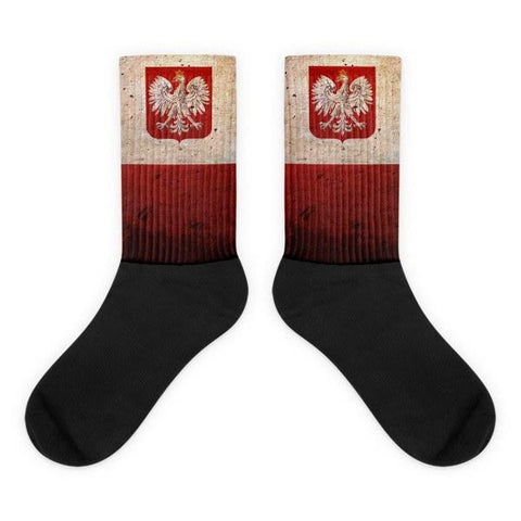 Polish Flag Novelty Socks - Nation Love