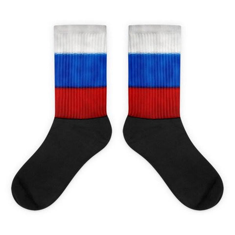 Russian Flag Socks - Nation Love